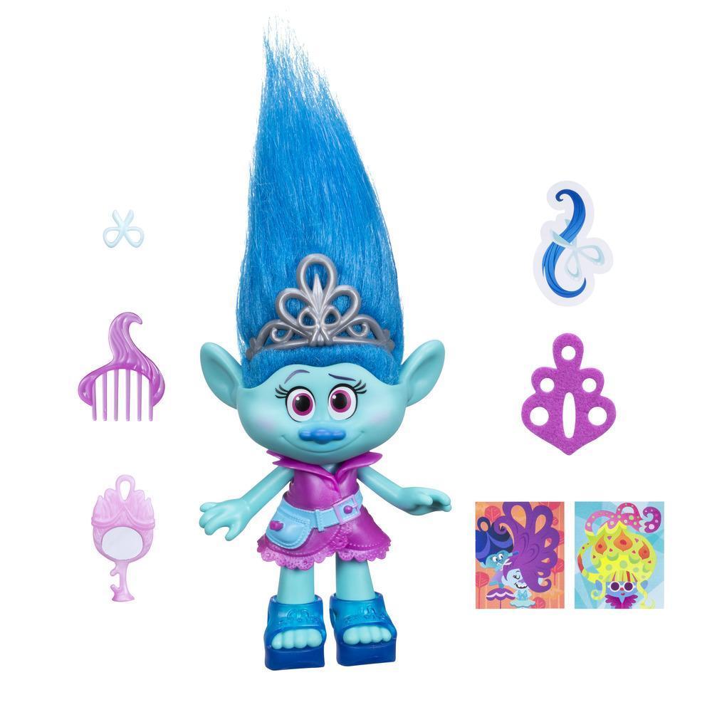 figurina trolls - maddy, 23 cm