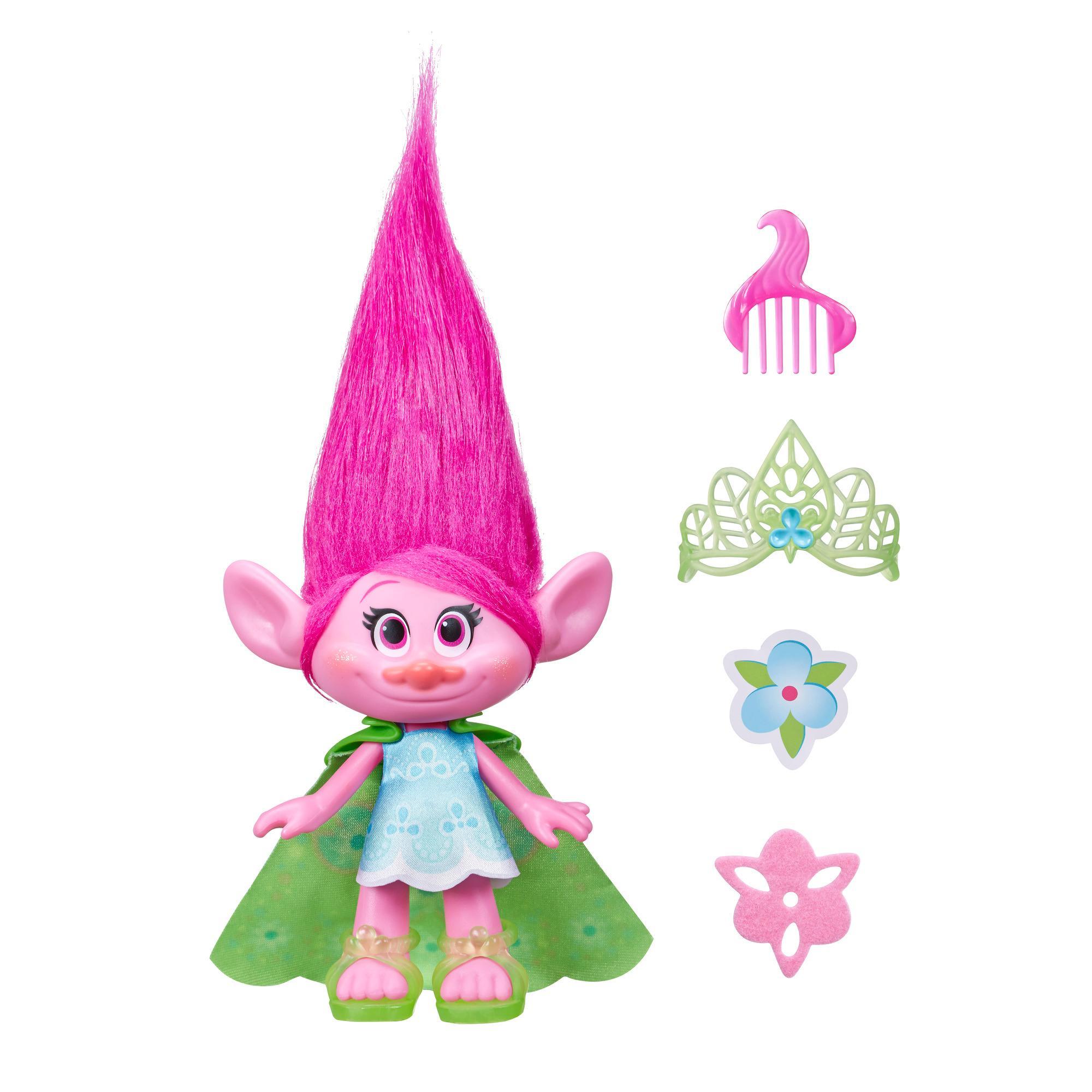 figurina trolls - poppy, 23 cm