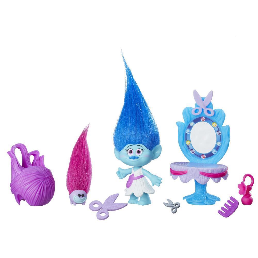 figurina trolls - studioul de coafura a lui maddy