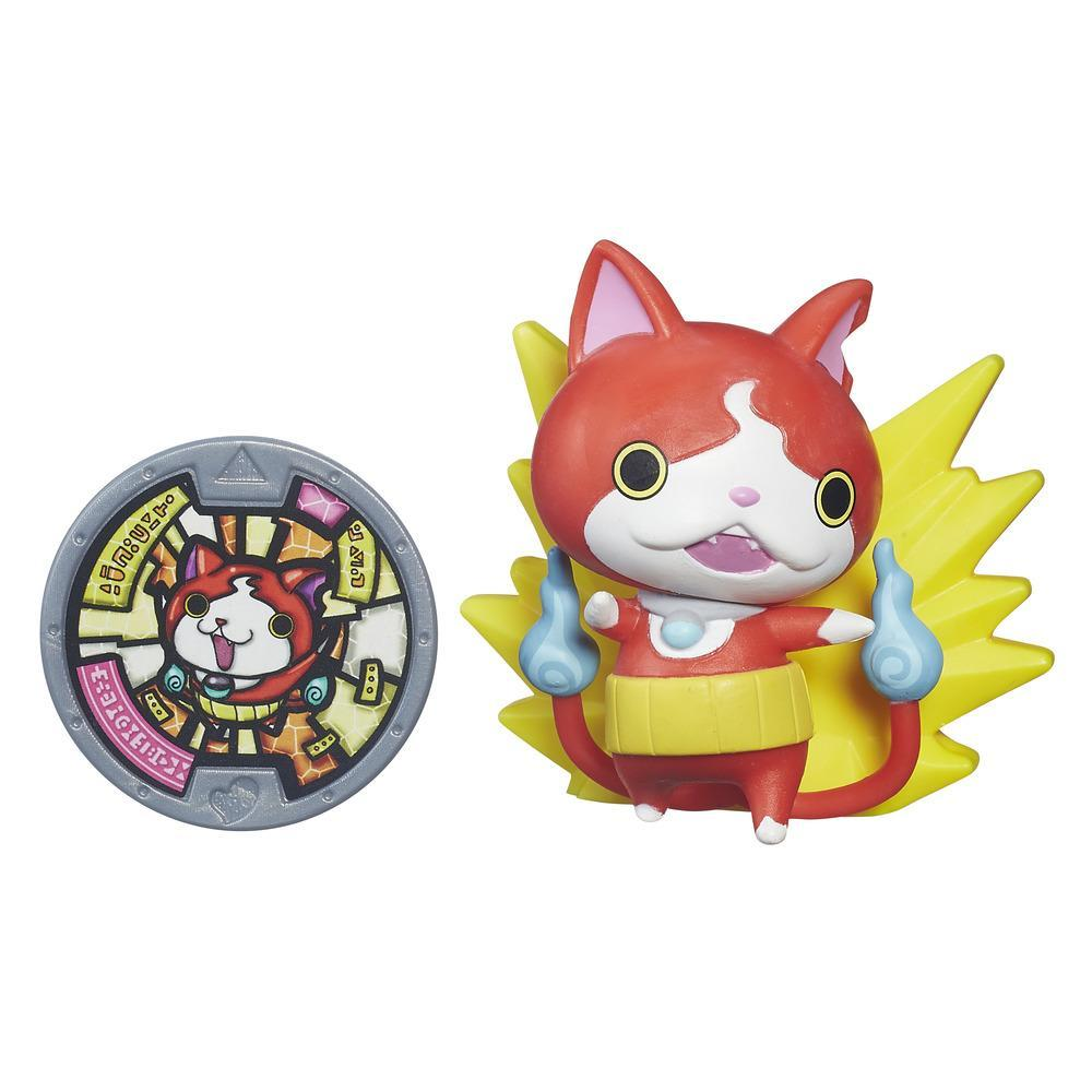 figurina yo-kai watch medal moments - jibanyan