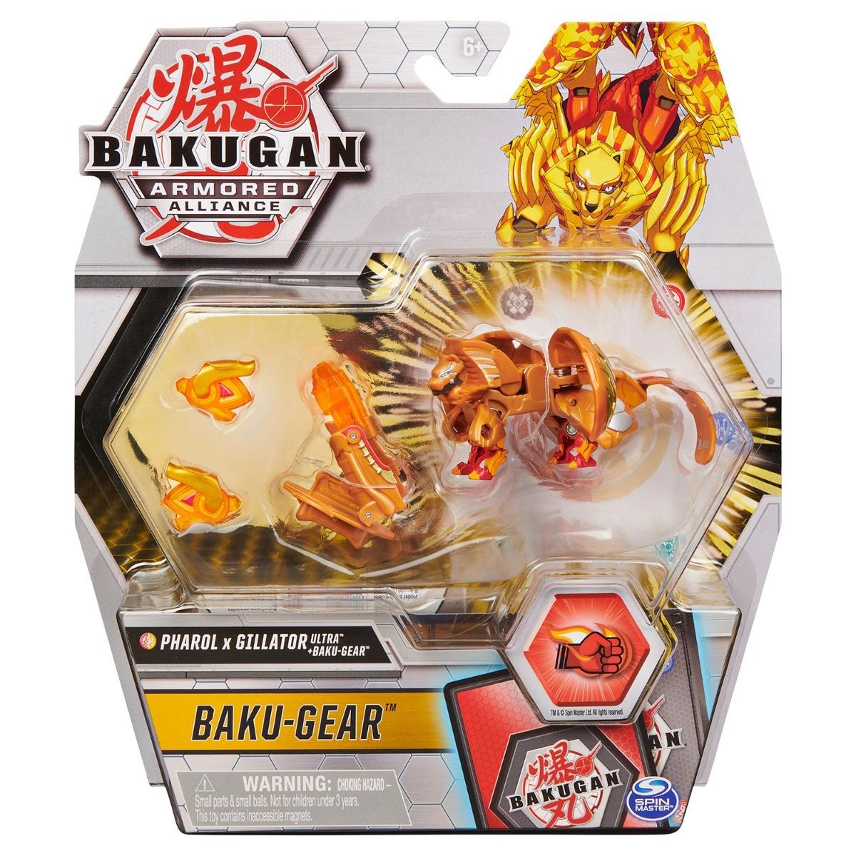 Figurina Bakugan Armored Alliance, Pharol x Gillator Ultra, Baku-Gear, 20126525