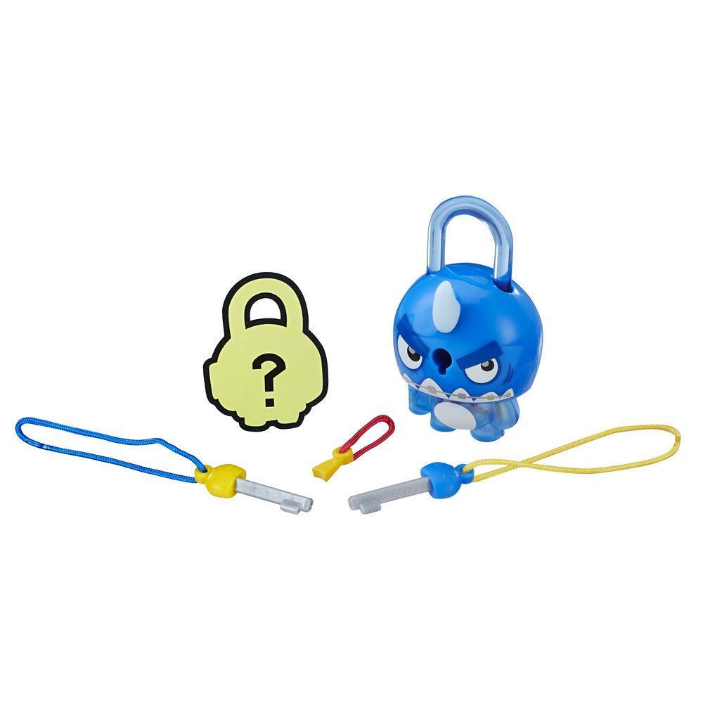 Figurina breloc Lock Stars - Rechin albastru (E3208)