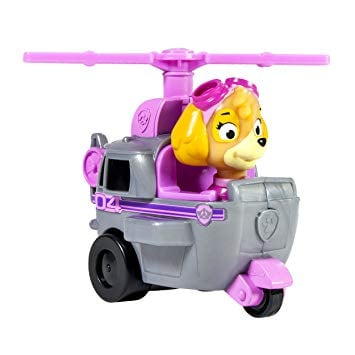 Figurina cu vehicul de salvare Paw Patrol - Skye imagine 2021
