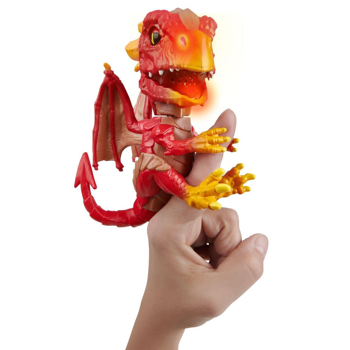 Figurina interactiva Fingerlings - Untamed Dragon Fire