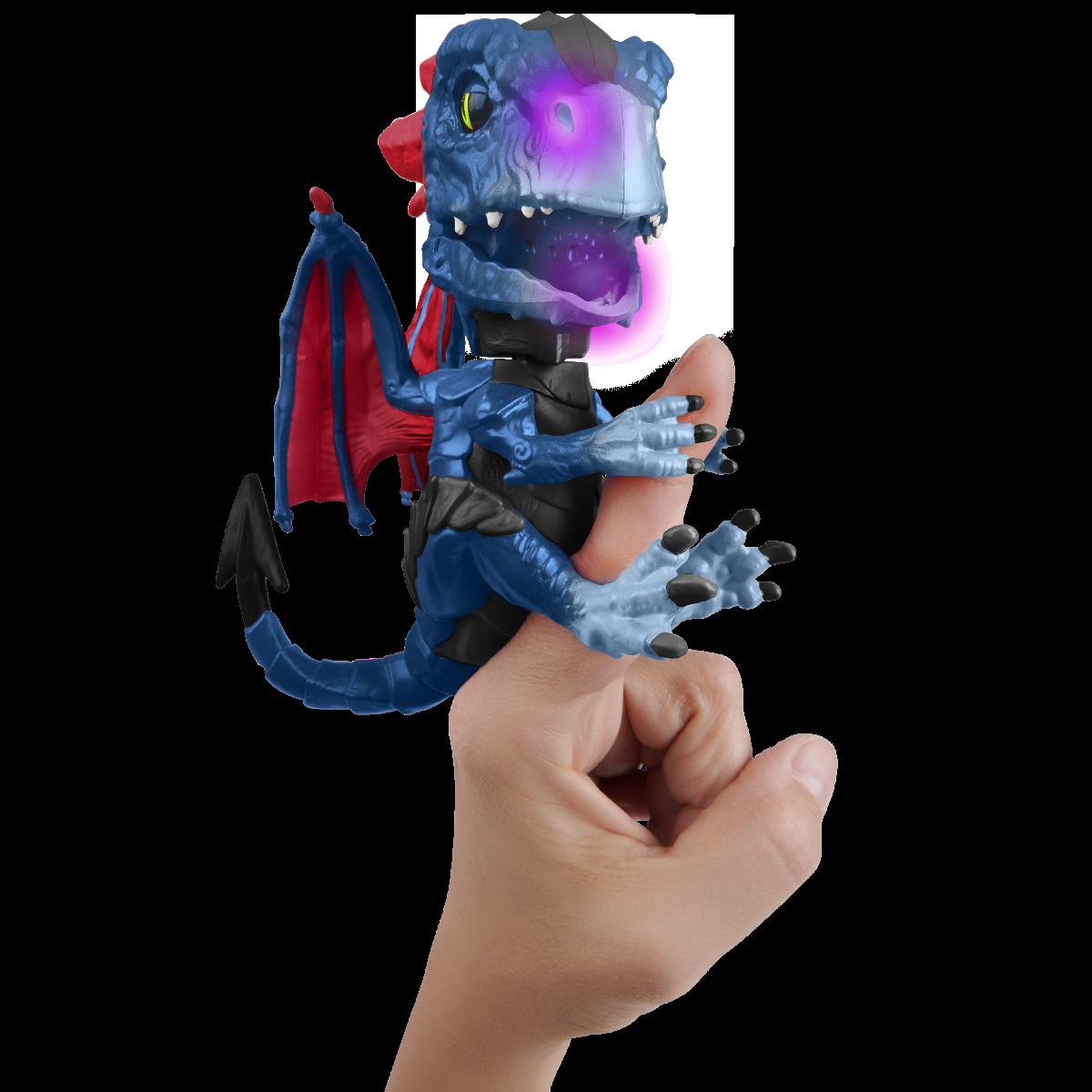 Figurina interactiva Fingerlings - Untamed Dragon Shockwave