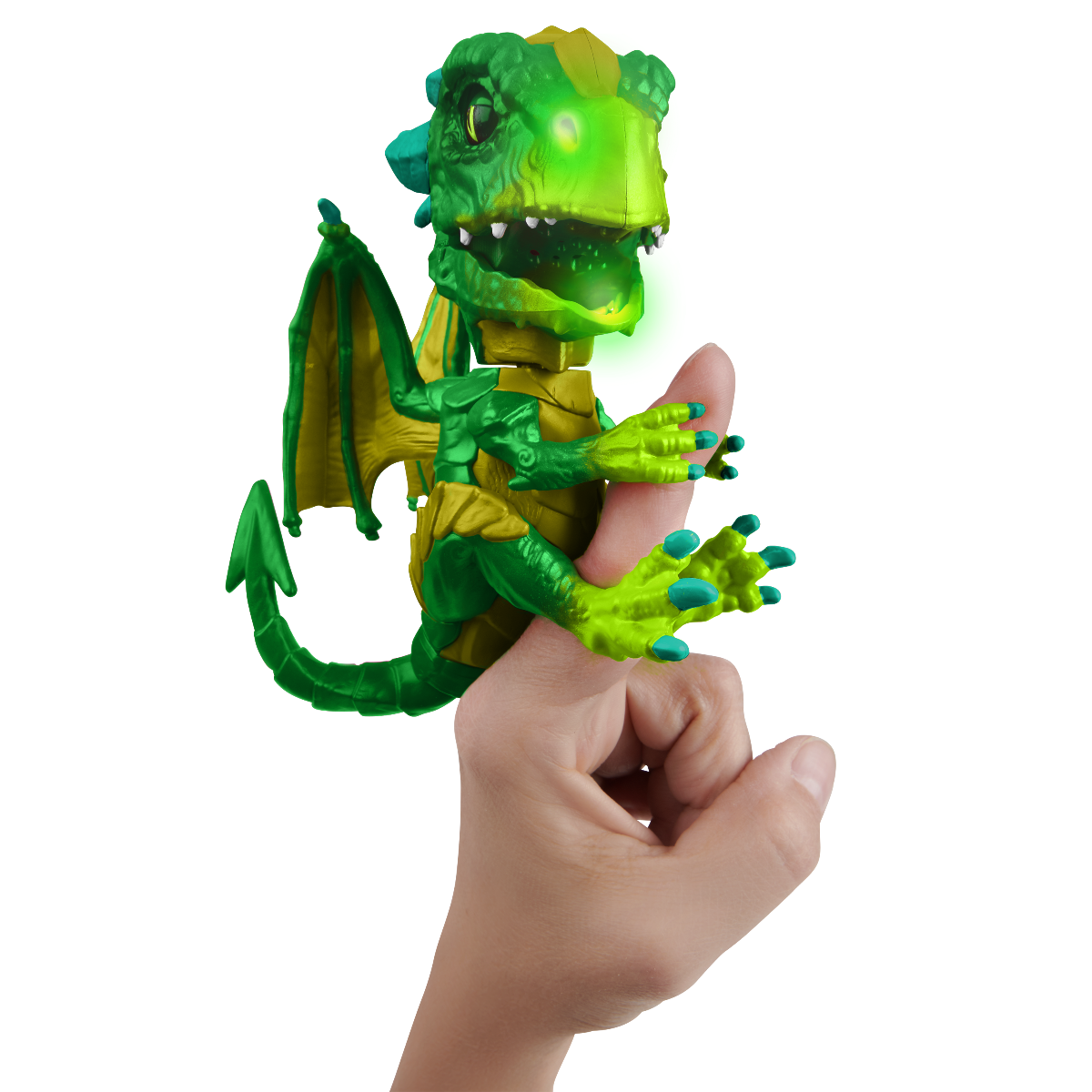 Figurina interactiva Fingerlings - Untamed Dragon Venom