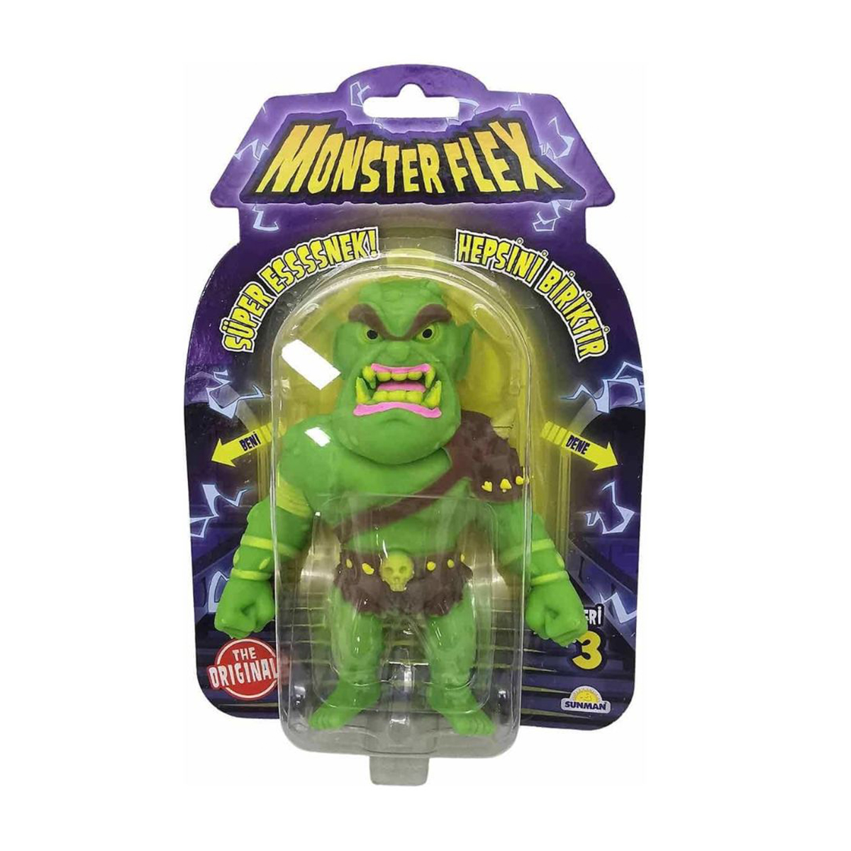 Figurina Monster Flex, Monstrulet care se intinde, S3, Ogre