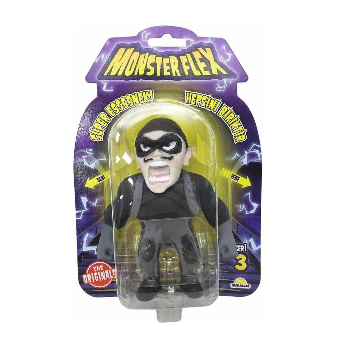 Figurina Monster Flex, Monstrulet care se intinde, S3, Thief