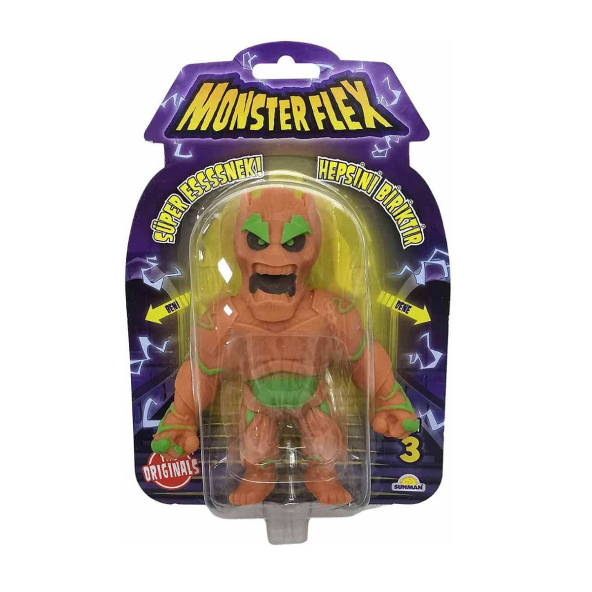 Figurina Monster Flex, Monstrulet care se intinde, S3, Trunkman