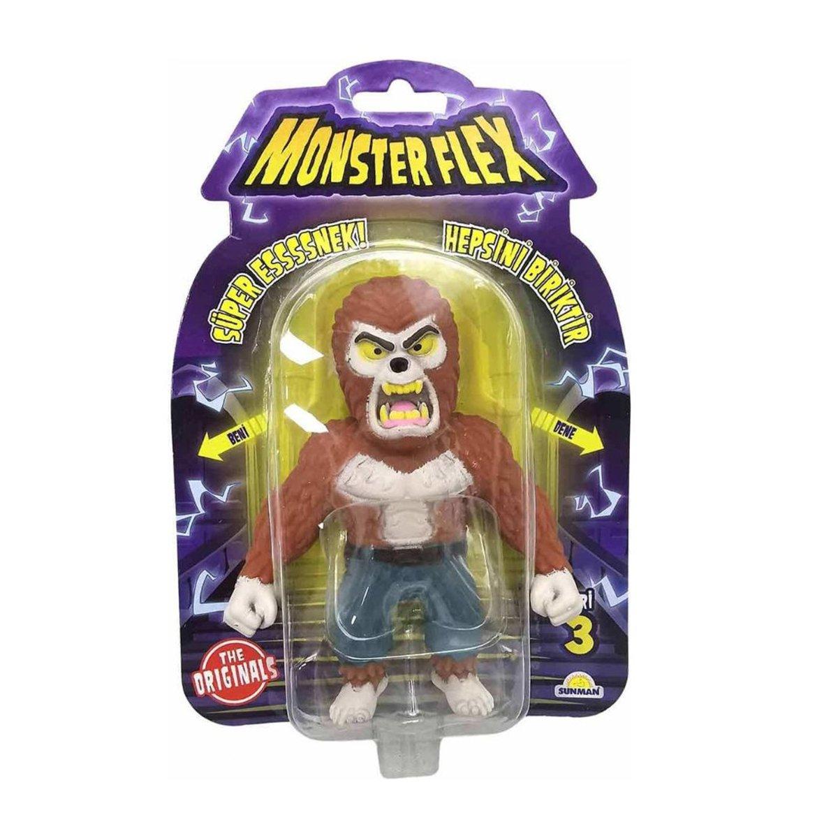 Figurina Monster Flex, Monstrulet care se intinde, S3, Werewolf