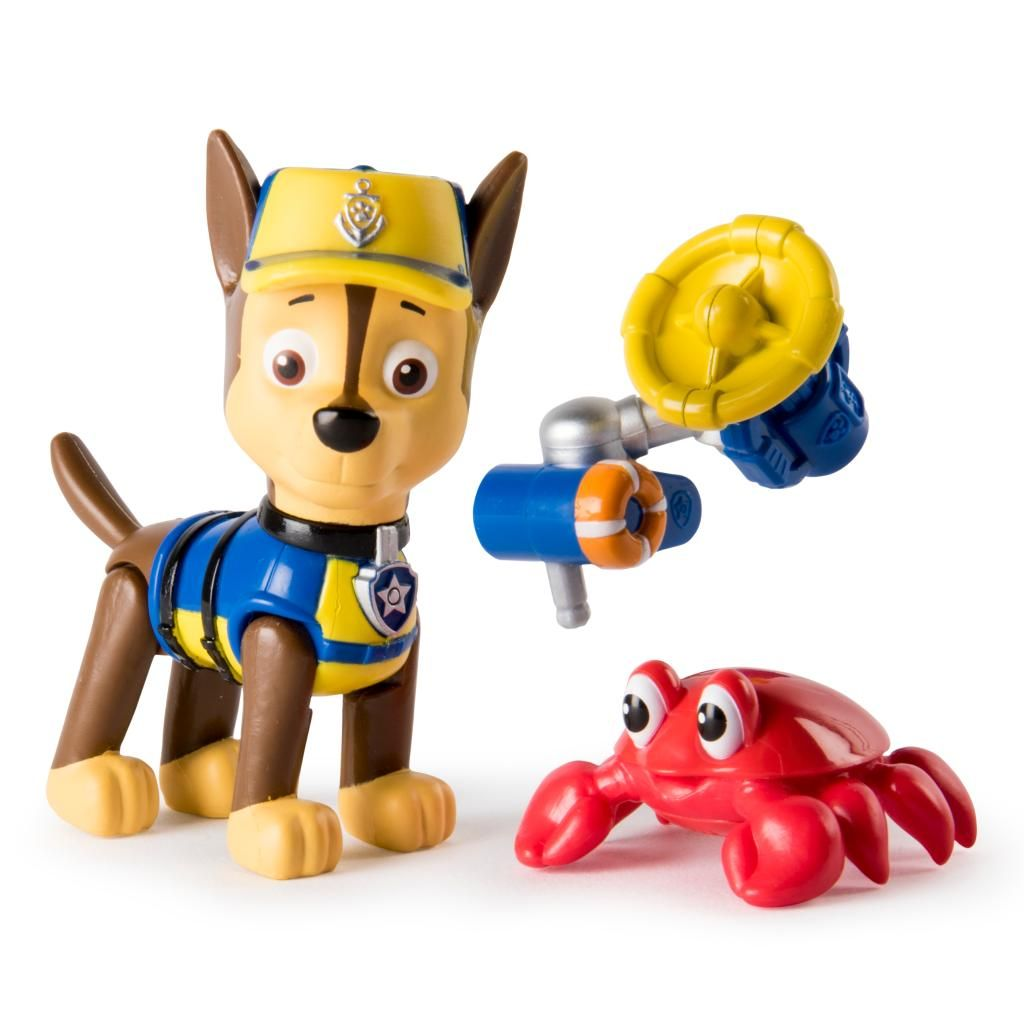 Figurina Paw Patrol Hero Pup Chase in mission