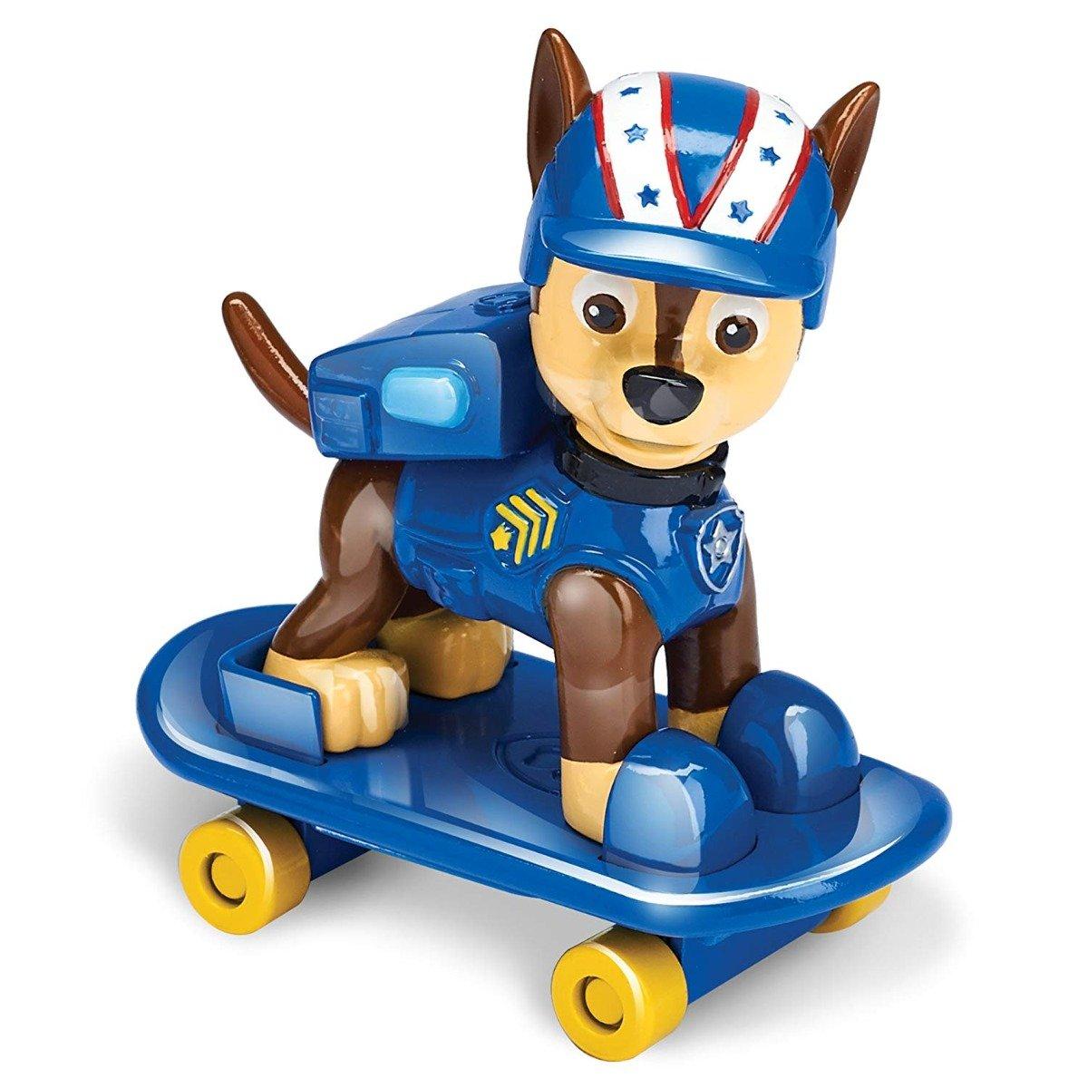 Figurina Paw Patrol Hero Pup Skateboard - Chase (20088135)