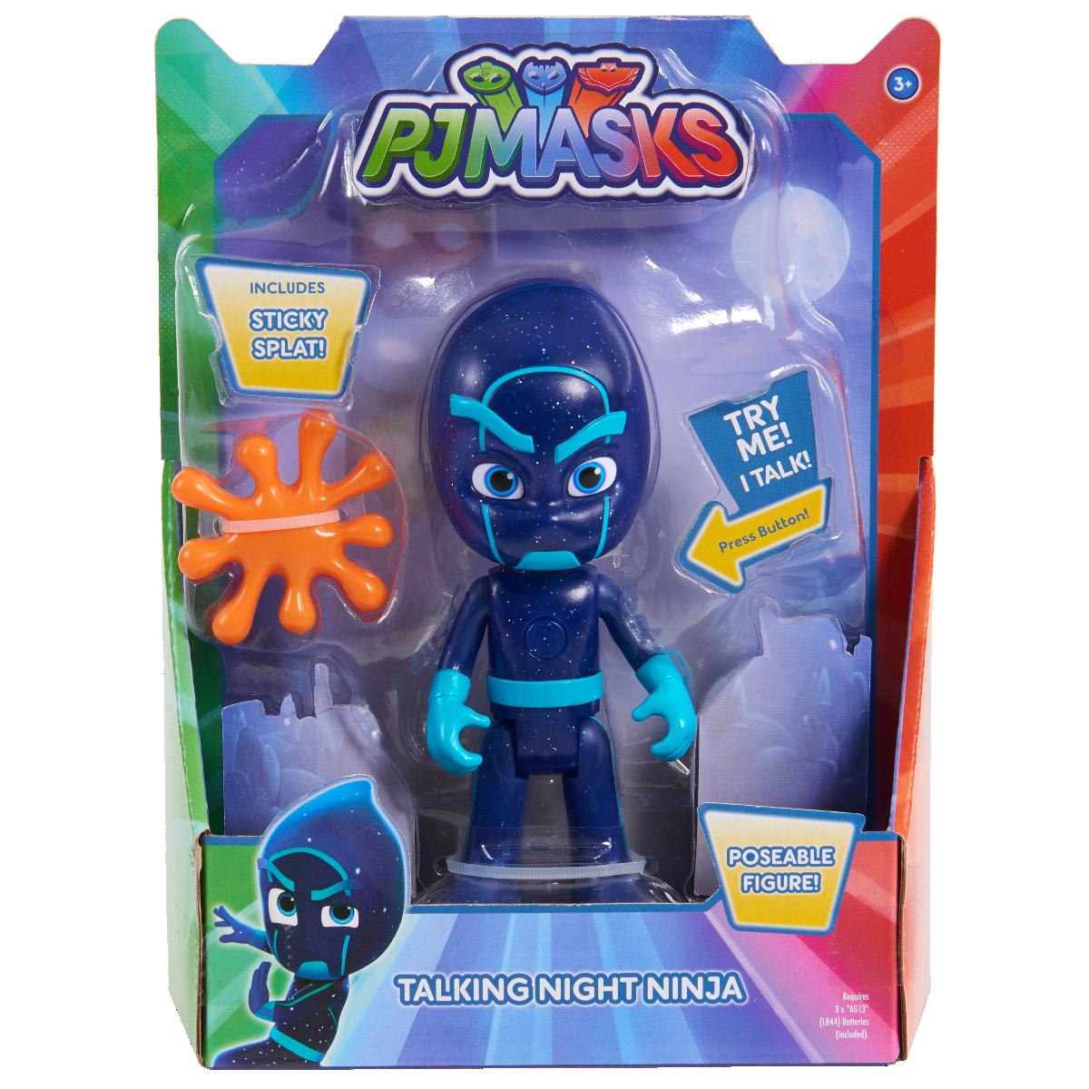 Figurina PJ Masks luminoasa si interactiva Ninja