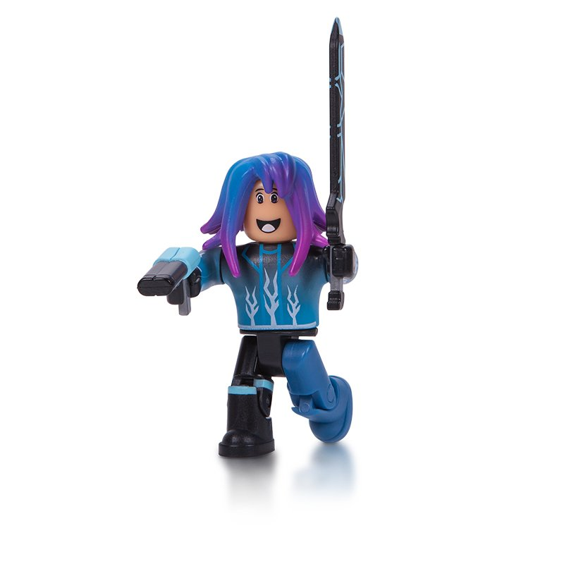 Figurina Roblox - Blue Lazer Parkour Runner (10714)