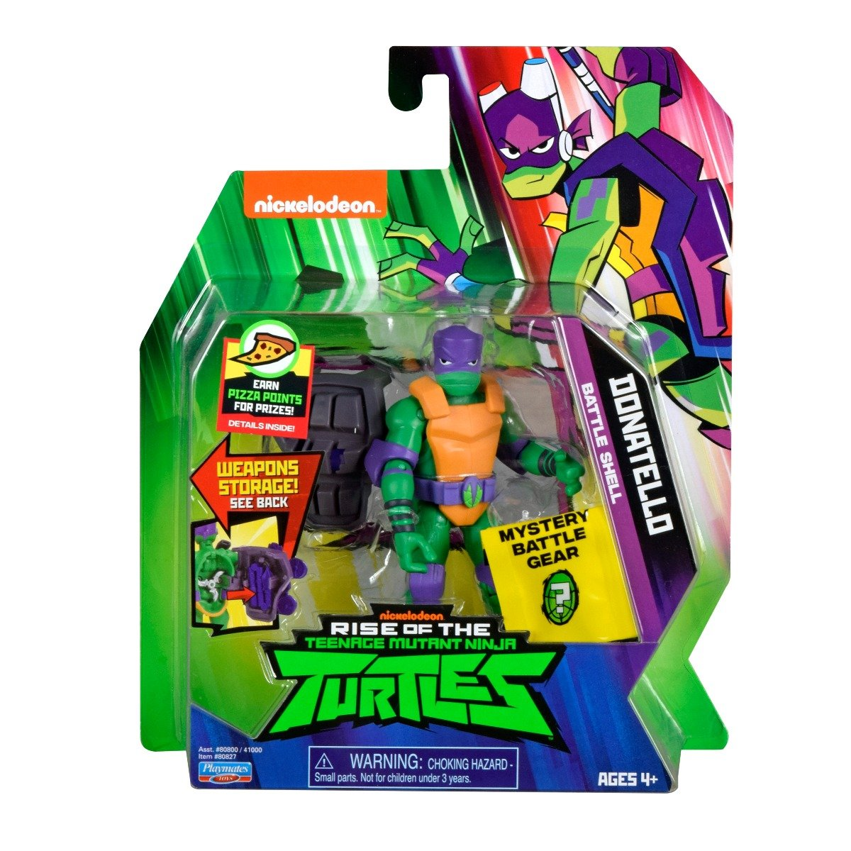 Figurina Testoasele Ninja Donatello Battle Shell