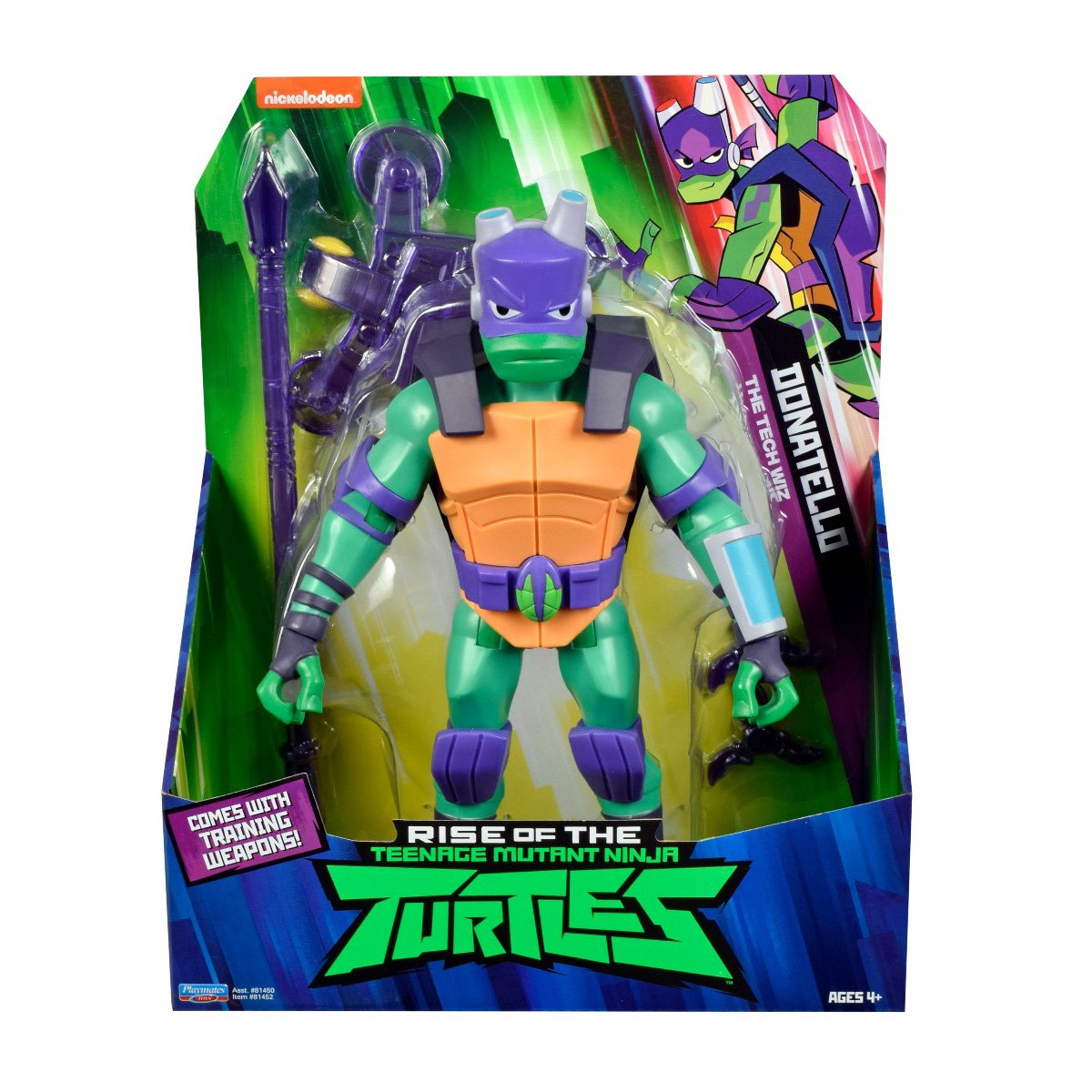 Figurina Testoasele Ninja Donatello The Tech Wiz