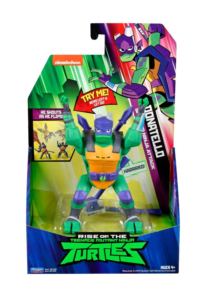 Figurina Testoasele Ninja Donatello Ninja Attack imagine