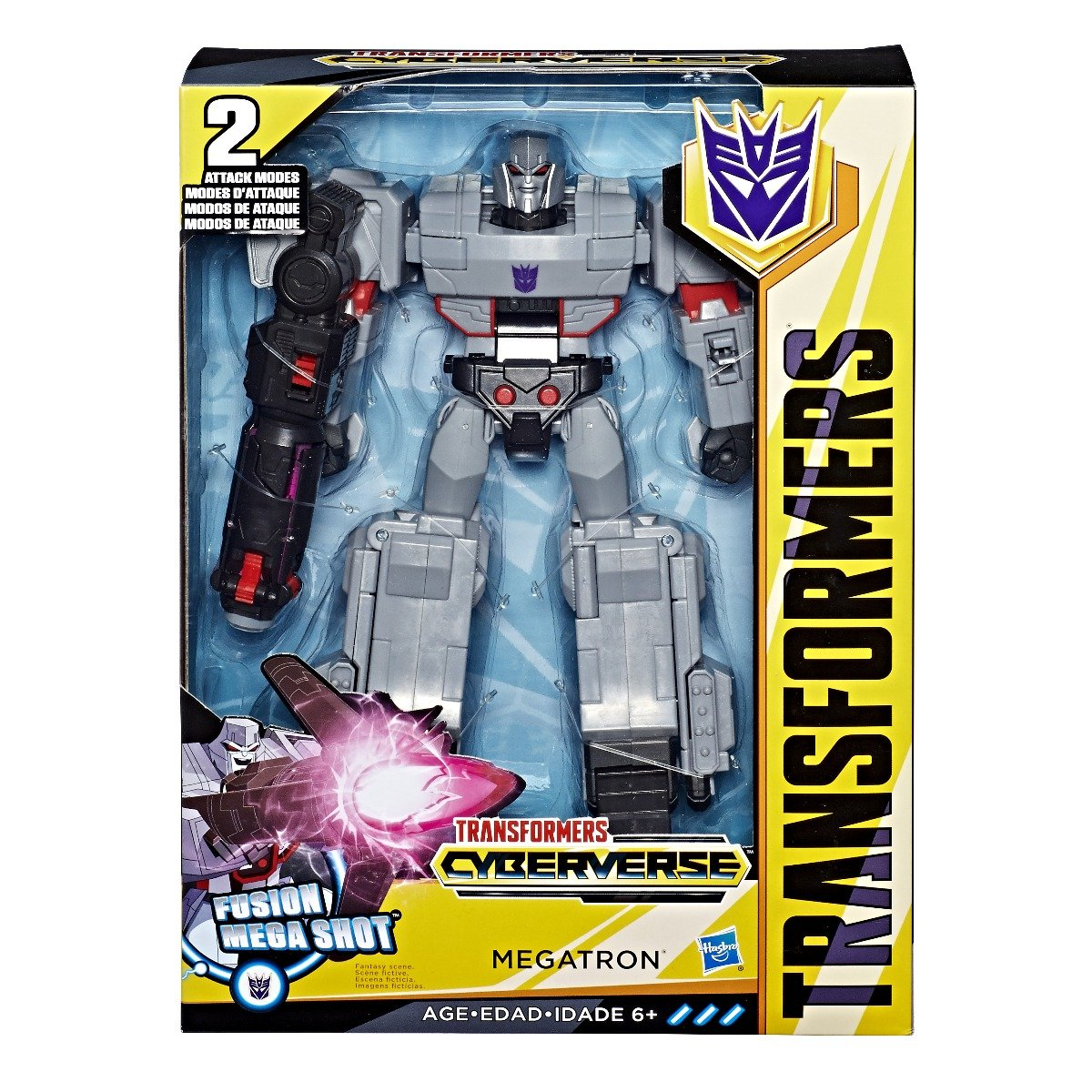 Figurina Transformers Cyberverse Action Attacker Ultimate Megatron