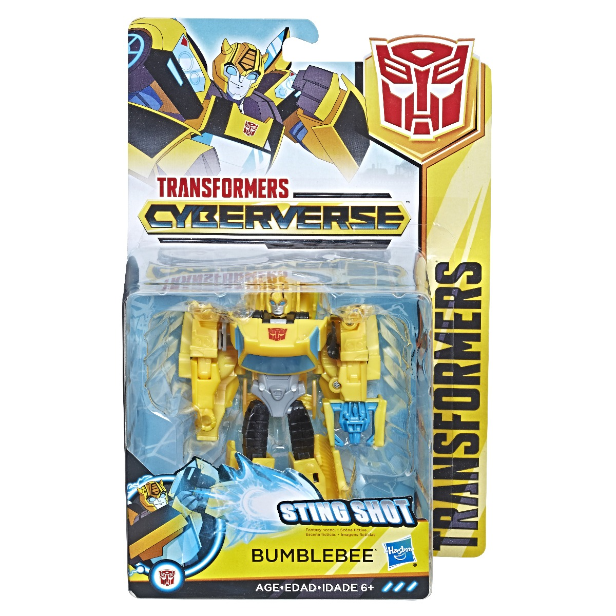Figurina Transformers Cyberverse Action Attackers Warrior Bumblebee
