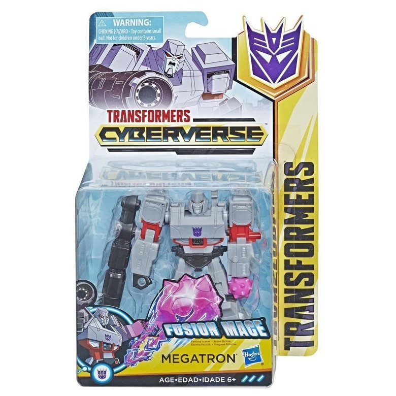 Figurina Transformers Cyberverse Action Attackers Warrior Megatron