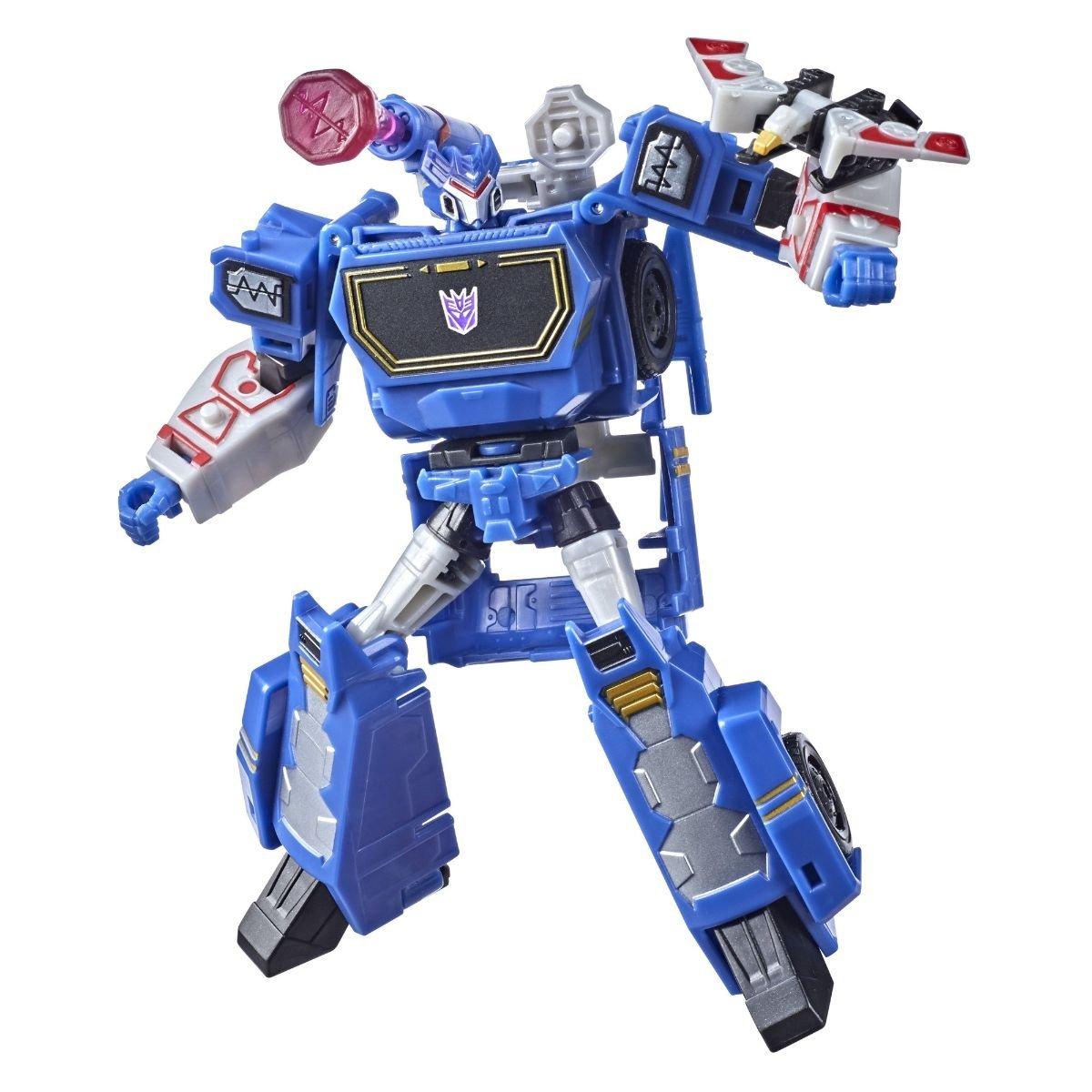 Figurina Transformers Cyberverse Deluxe, Soundwave, F05095