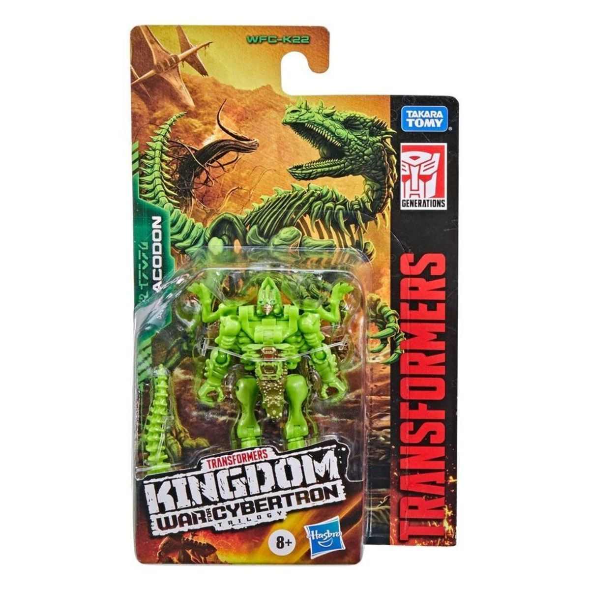 Figurina Transformers Kingdom WFC, Dracodon F0668