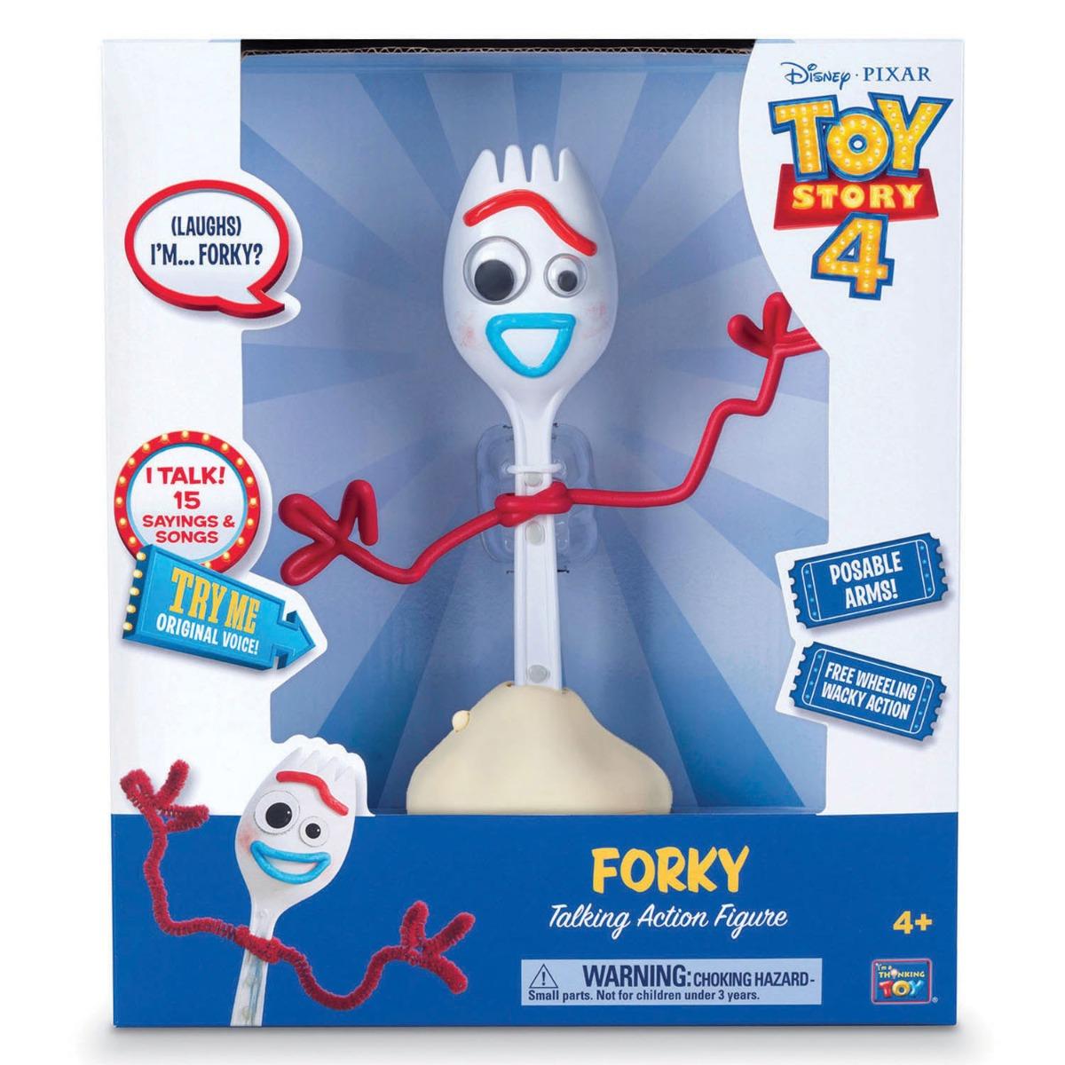 Figurina vorbitoare Toy Story 4, Forky imagine 2021