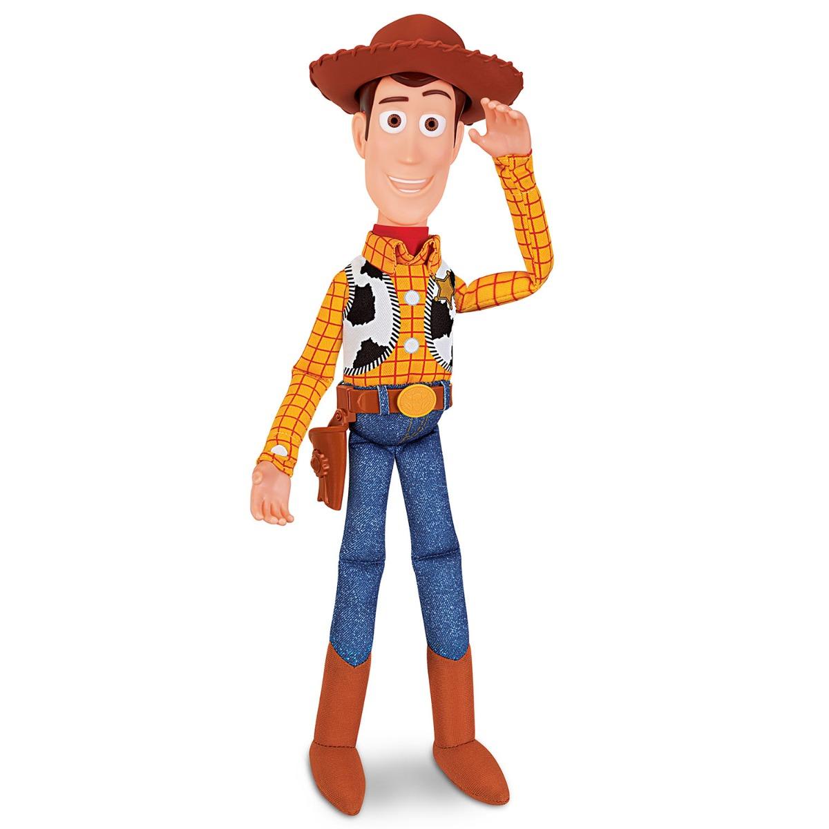 Figurina vorbitoare Toy Story 4, Woody