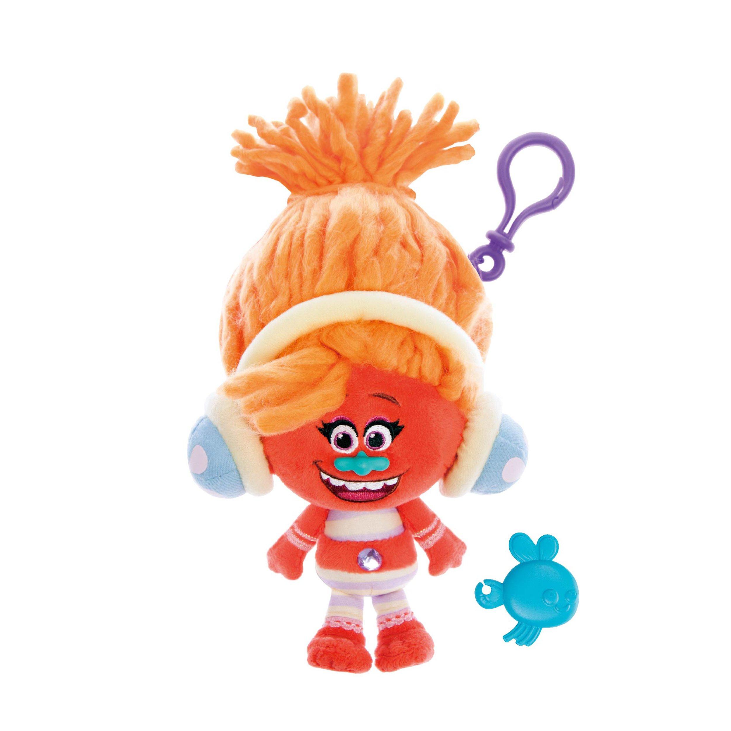 figurine breloc trolls - dj suki, 22 cm