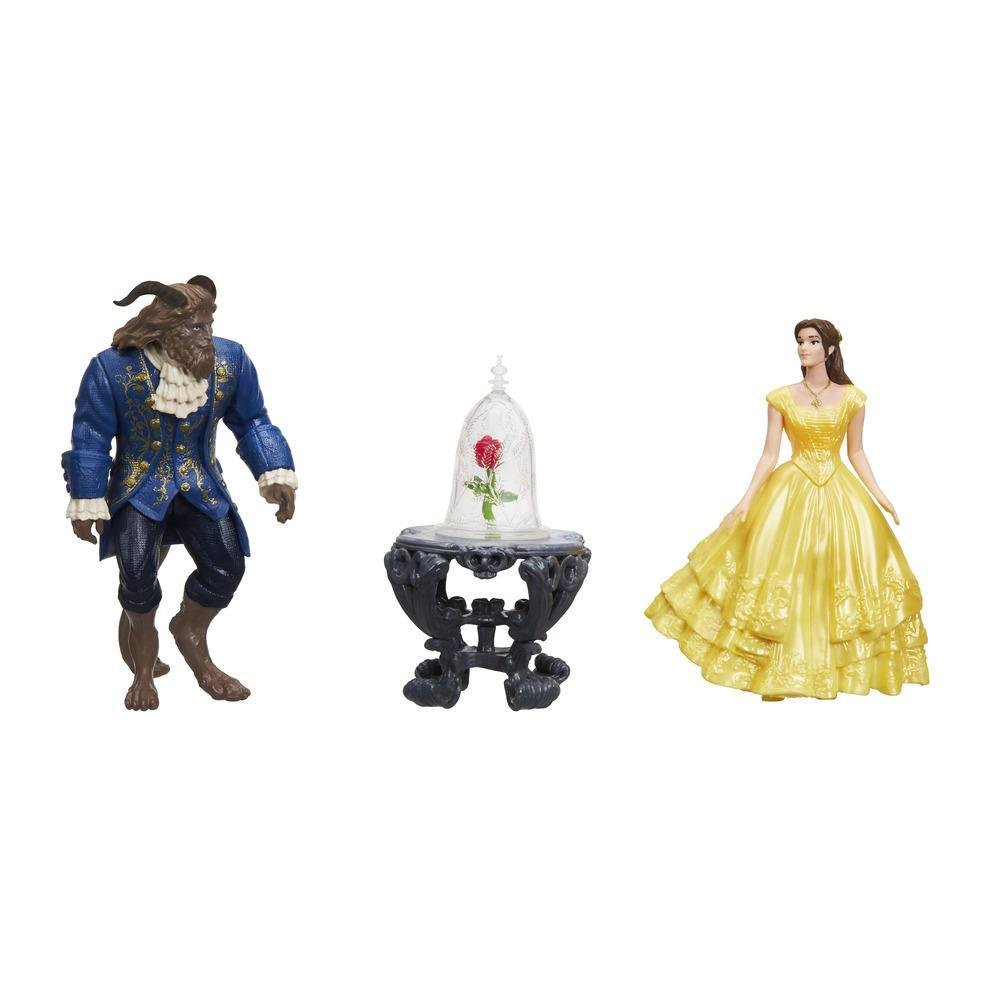 figurine disney beauty and the beast - scena trandafirului vrajit