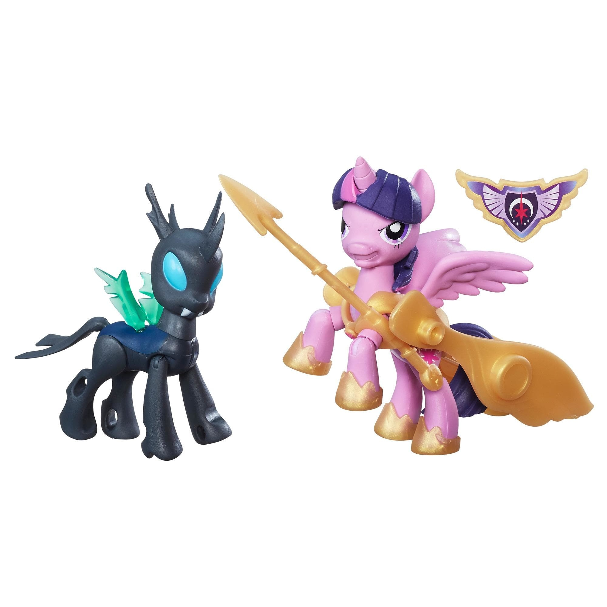 Figurine My Little Pony Gardienii Armoniei - Princess Twilight Sparkle si Changeling