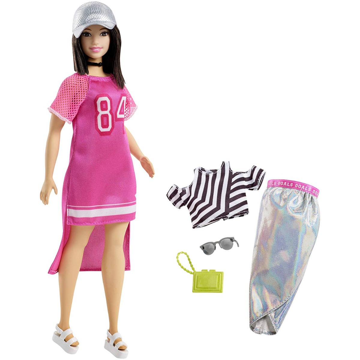 Papusa Barbie Fashionistas 101, Sporty Chic, FRY81