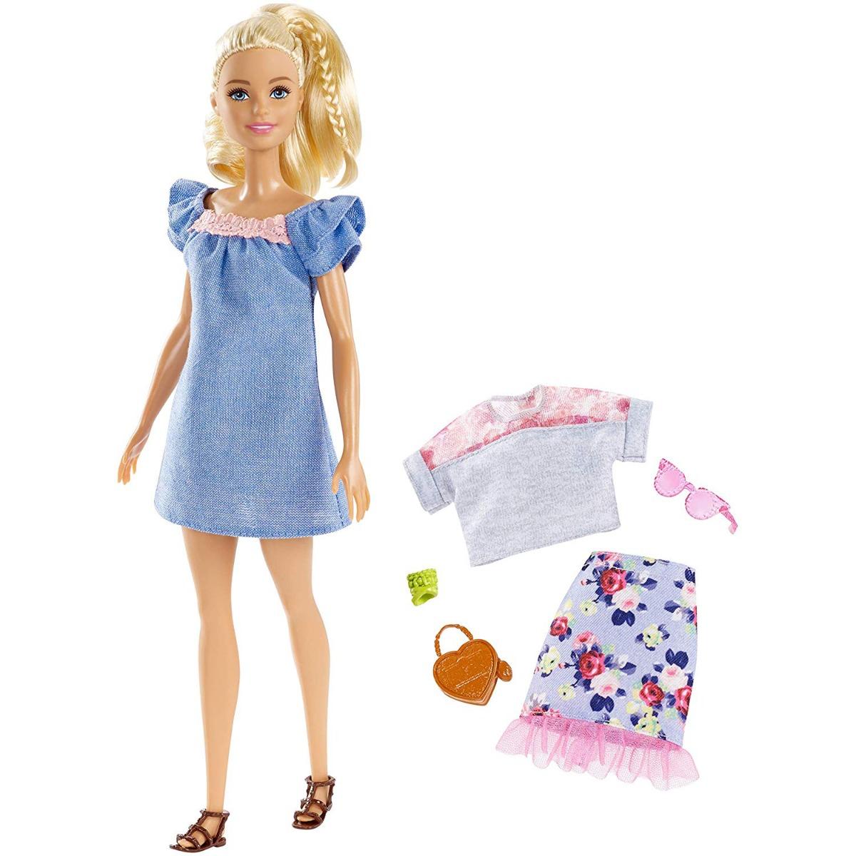Papusa Barbie Fashionistas 99, Sweet Bloom, FRY79