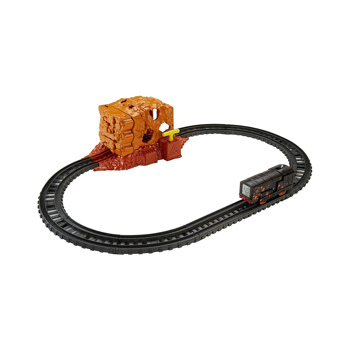 Set de joaca cu locomotiva motorizata, Thomas And Friends, Tunelul