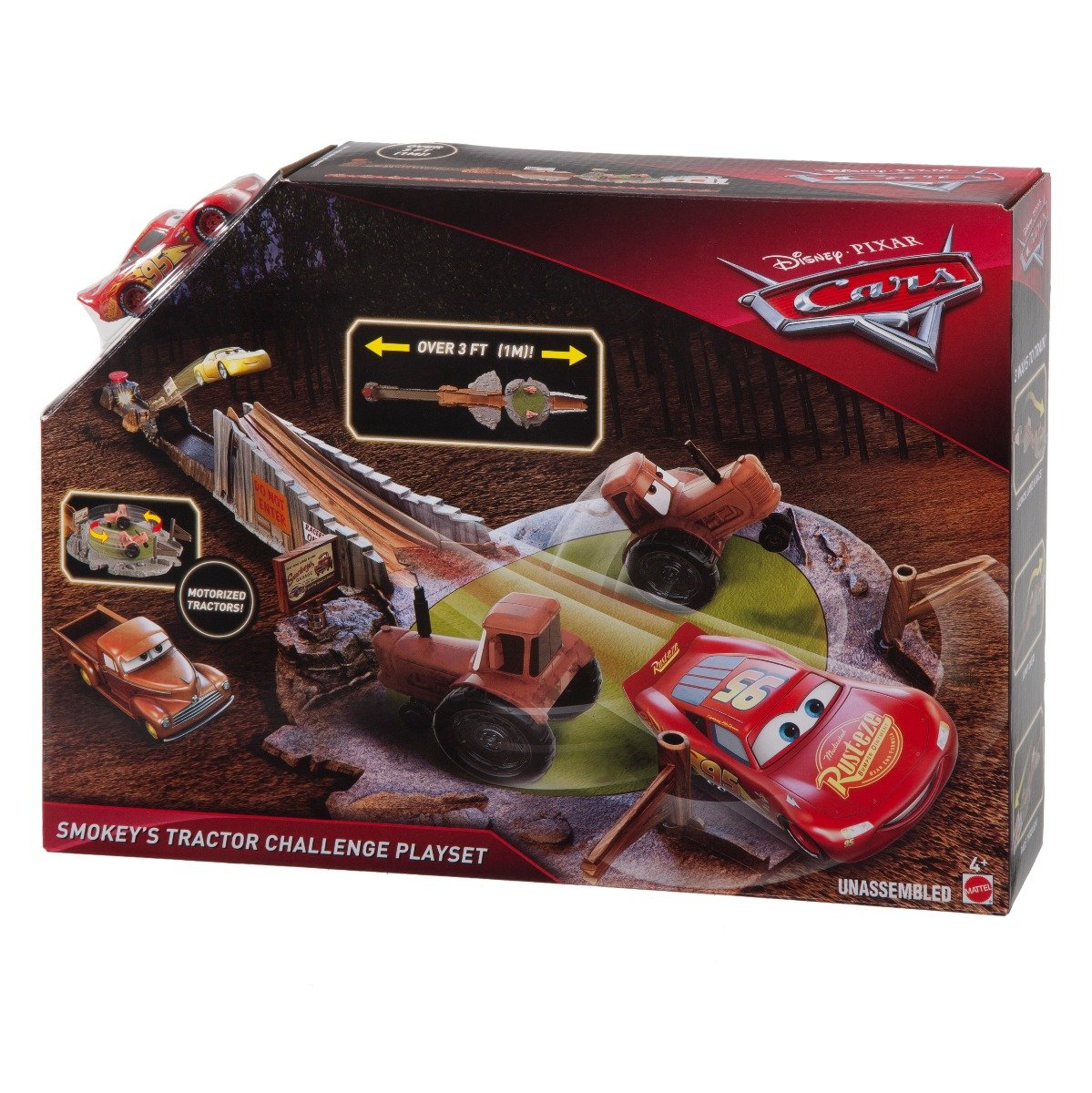 Set de joaca Disney Cars - Cursa infernala