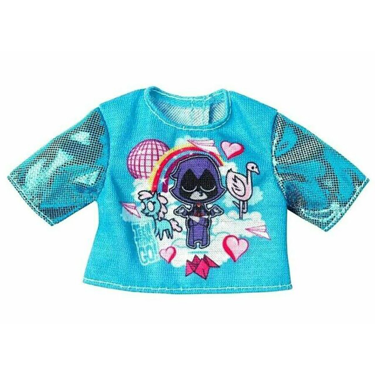 Bluza pentru papusa Barbie Teen Titans FXJ81