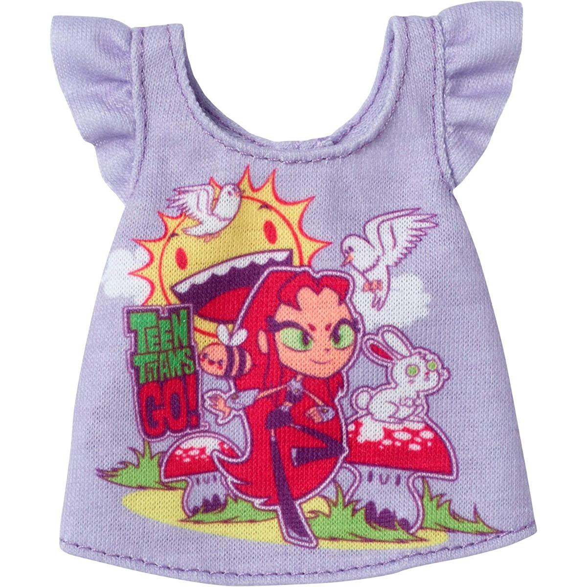 Bluza pentru papusa Barbie Teen Titans FXJ82