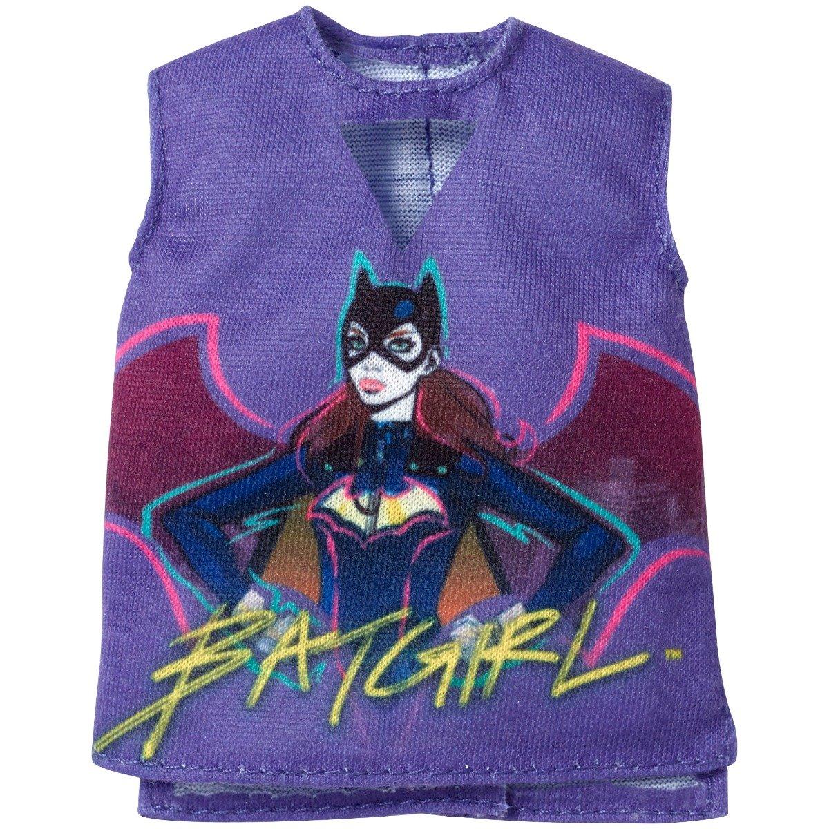 Bluza pentru papusa Barbie Batgirl FXJ83