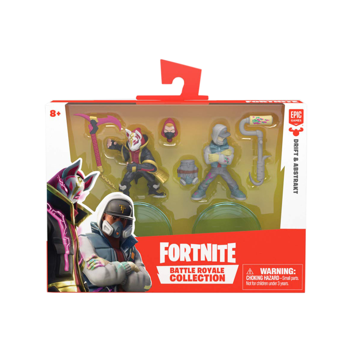 Set 2 figurine Fortnite S2 - Drift si Abstrackt (63536)