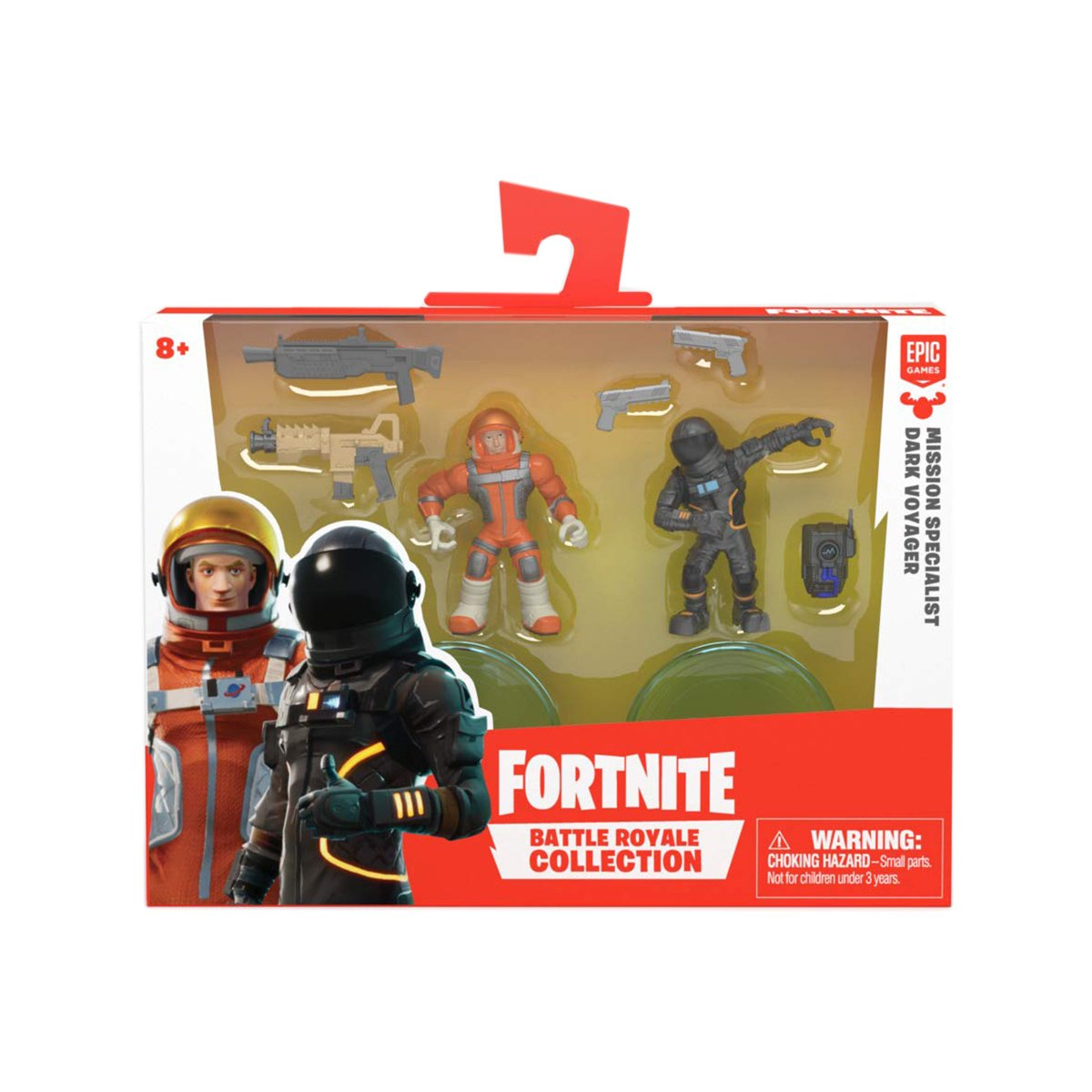 Set 2 figurine Fortnite S2 - Mission Specialist si Dark Voyager (63540)