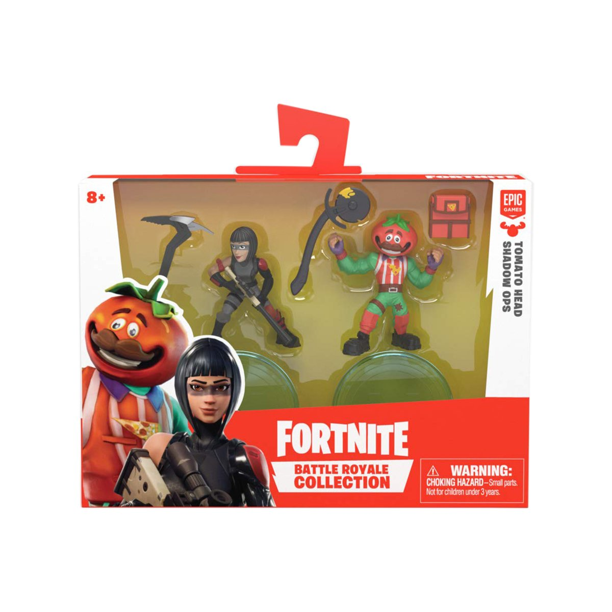 Set 2 figurine Fortnite S2 - Tomatohead si Shadow Ops (63537)