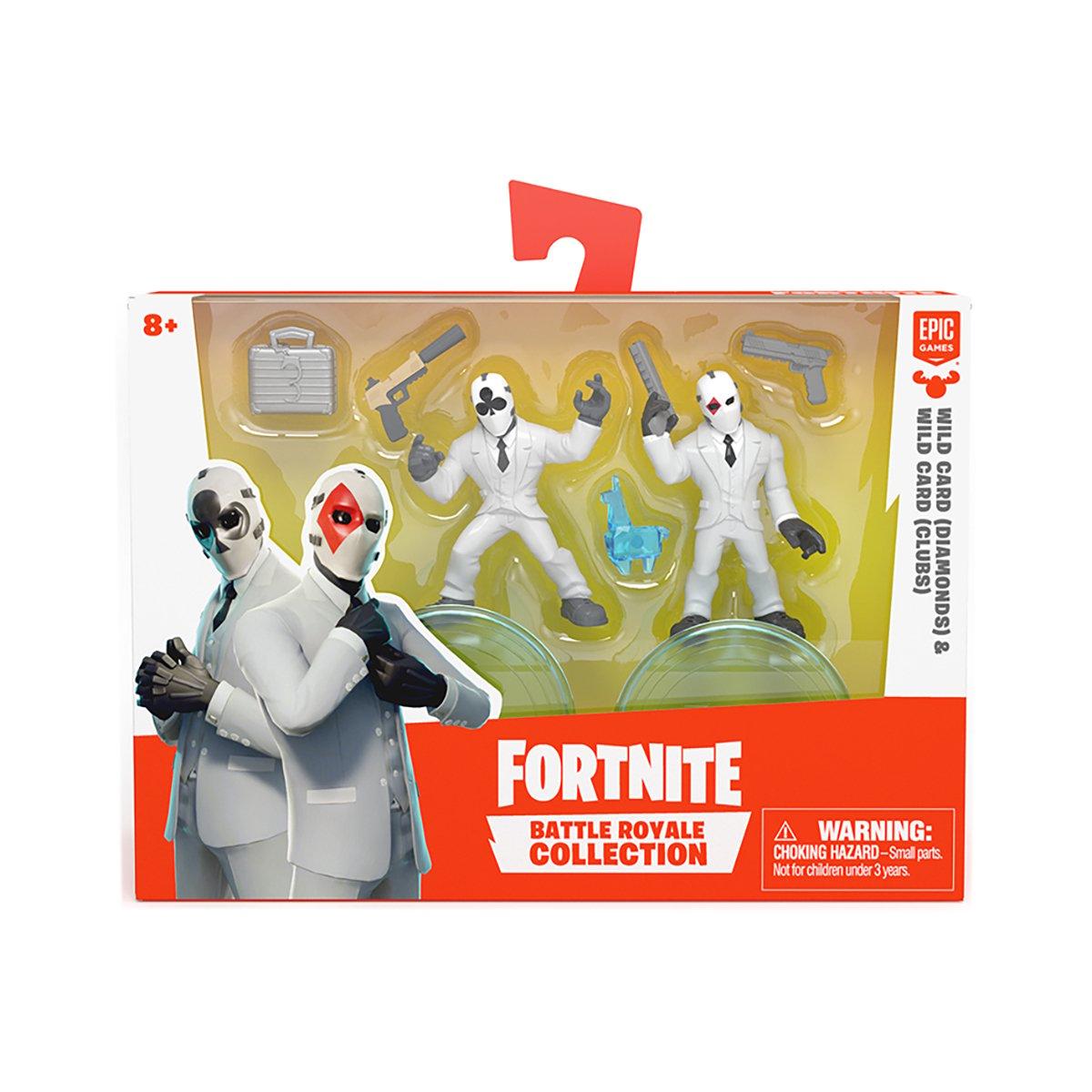Set 2 figurine Fortnite, Diamonds si Clubs S1 W3 (63542)