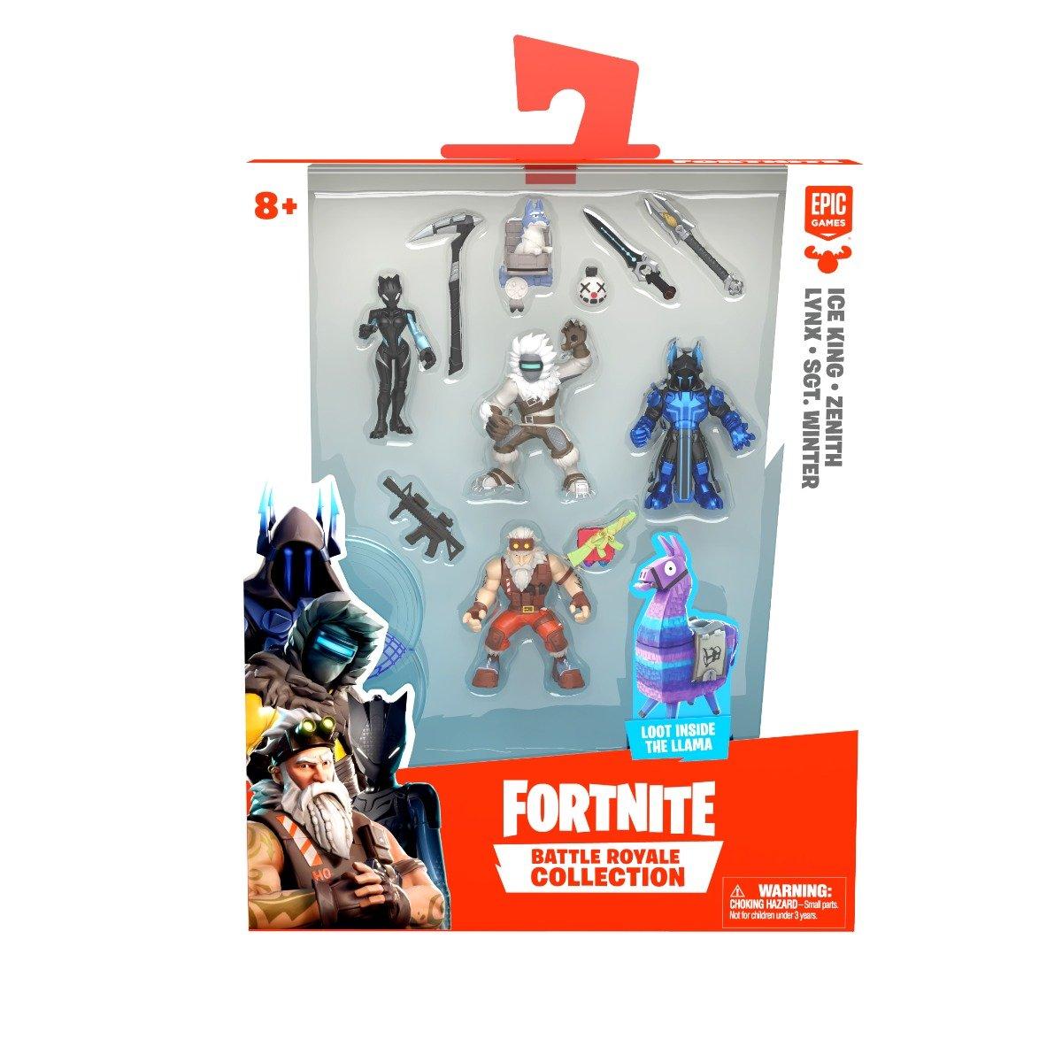 Set 4 figurine articulate Fornite Battle Royale, Squad, S1 W4