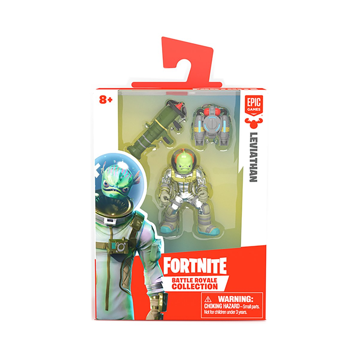 Figurina 2 in 1 Fortnite Battle Royale, Leviathan, S1 W3