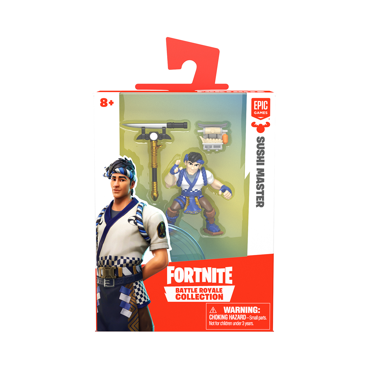 Figurina 2 in 1 Fortnite Battle Royale, Sushi Master, S1 W3