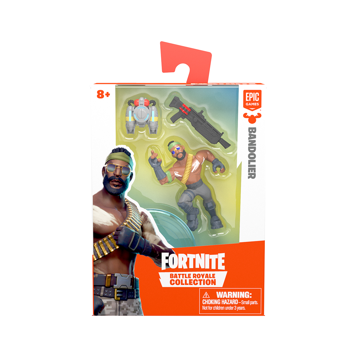 Figurina 2 in 1 Fortnite Battle Royale, Bandolier, S1 W3