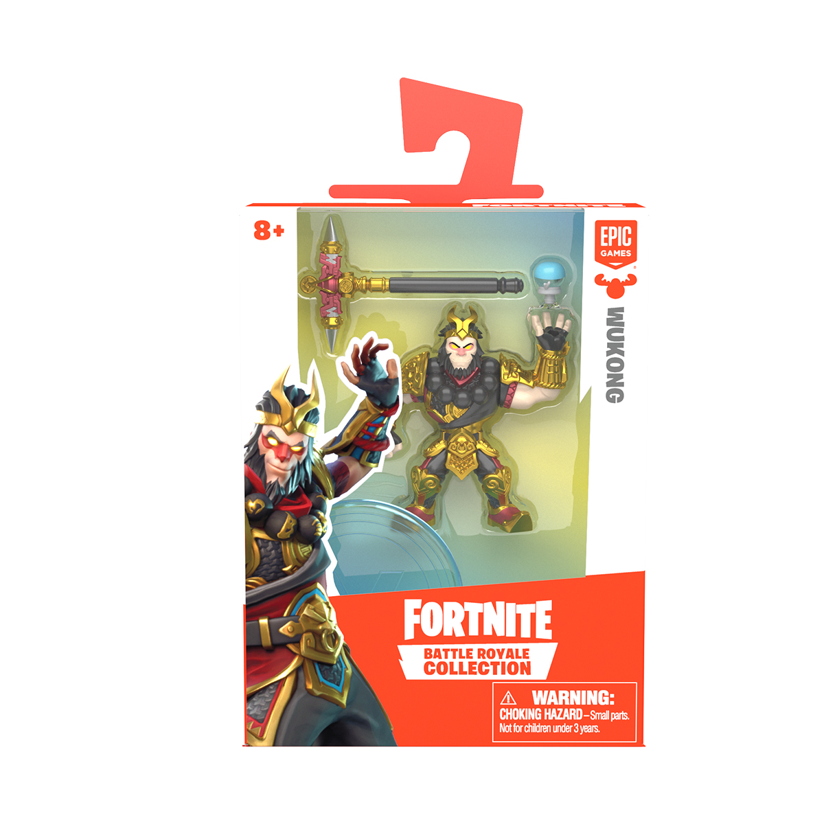 Figurina 2 in 1 Fortnite Battle Royale, Wukong, S1 W3
