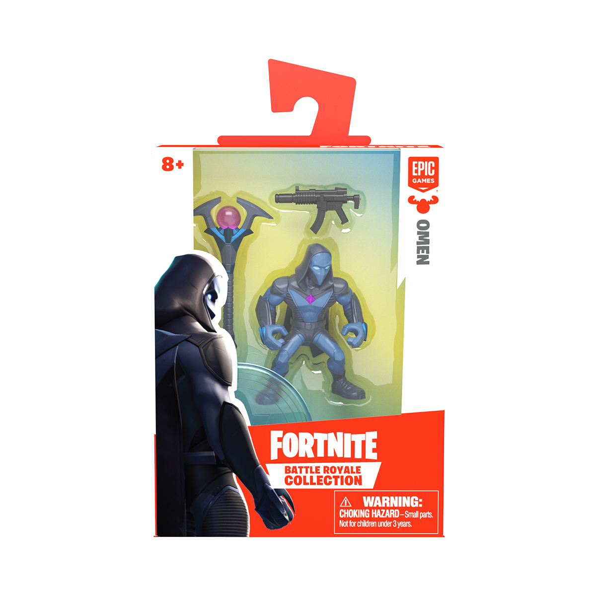 Figurina 2 in 1 Fortnite Battle Royale, Omen, S1 W3