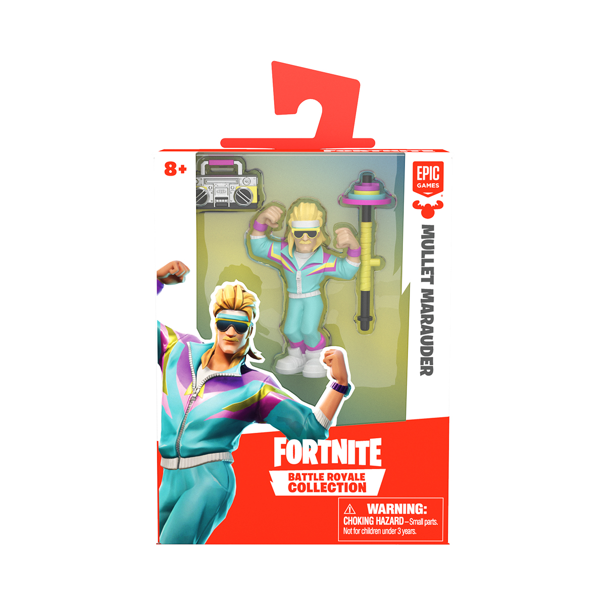 Figurina 2 in 1 Fortnite Battle Royale, Mullet Marauder, S1 W3