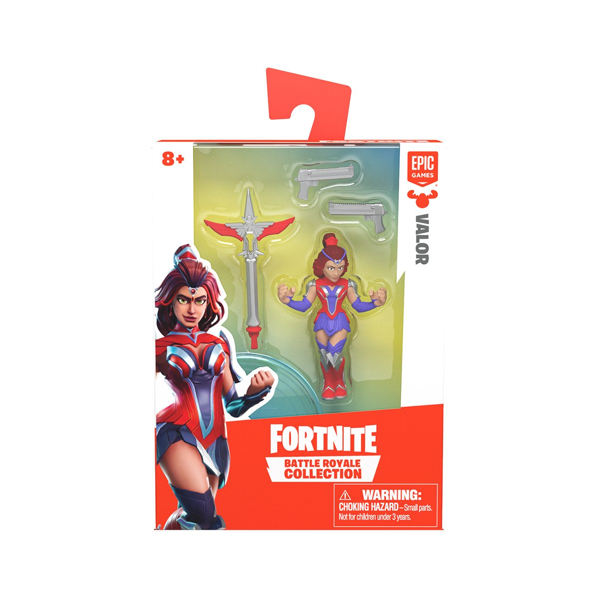 Figurina 2 in 1 Fortnite Battle Royale, Valor, S1 W3